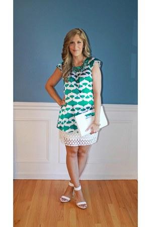 Charming Charlie bag - H&M skirt - Jennifer Lopez heels