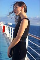 black Bimba heels - white Massimo Dutti blazer - Michael Ko bag