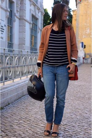 H&M jeans - Zara blazer - Bimba & Lola bag - Mango sandals
