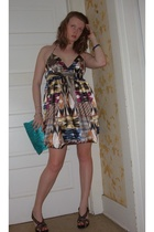 H&M dress - Target purse - DIY shoes