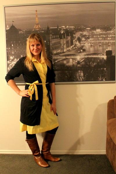 shirtdress vintage dress