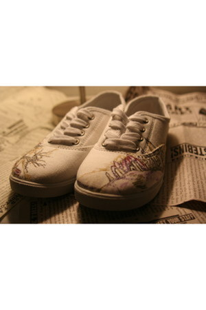 painted by me  Keds shoes