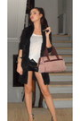 Leather-shorts-topshop-shorts-louis-vuitton-bag-zara-top-zara-cardigan