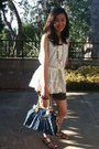 Denim-print-louis-vuitton-bag-boutique-shorts-lace-top-juicy-girl-blouse