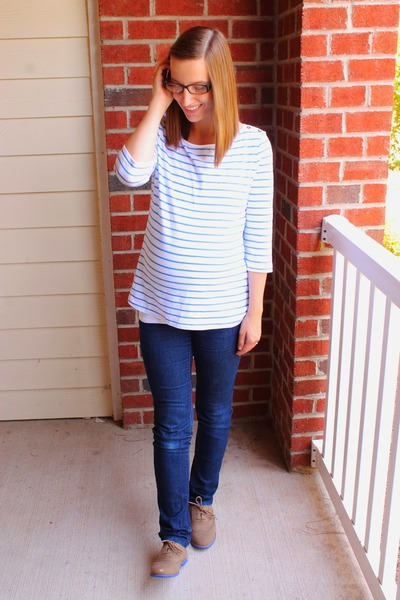 Maternity Destination Maternity Jeans, Oxfords JustFab Shoes ...