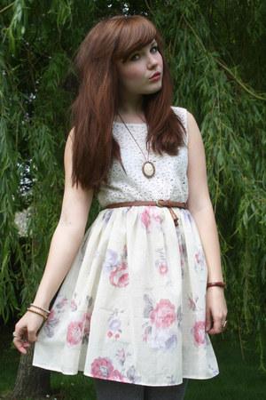 eggshell Kee Boutique dress