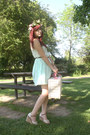Light-blue-zara-dress-beige-picnic-basket-bhs-bag