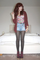 rose corset Topshop top