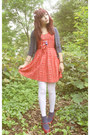 Red-dress-white-white-tights-tights-navy-navy-socks-topshop-socks