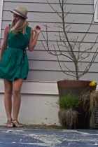 hat - Zara dress - Old Navy shoes