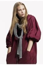 SLVR jacket - SLVR scarf