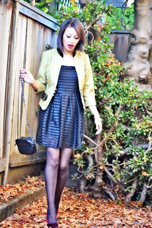 dress - top - heels
