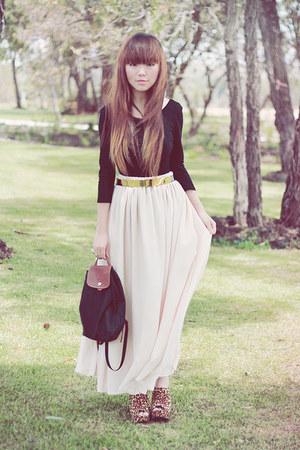 skirt - belt