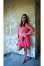 Carrot-orange-clutch-dkny-bag-carrot-orange-esacda-heels-coral-zara-blouse