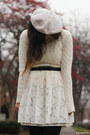 White-h-m-hat-ivory-lace-forever-21-dress