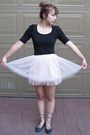 Black-forever-21-top-pink-forever-21-skirt-blue-forever-21-shoes