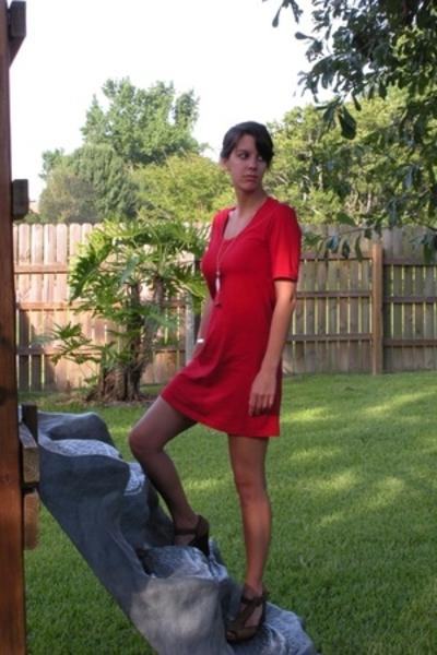 American Apparel dress - shoes