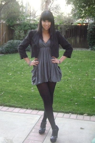 Frenchi jacket - Silence  Noise dress - H&M tights - Steve Madden shoes - Marc J