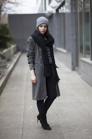 Mango boots - Zara blouse