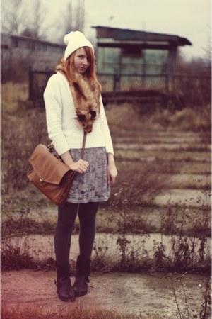 H&M Trend scarf - vintage cardigan