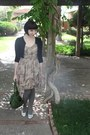 Modcloth-dress-vintage-bag-forever-21-cardigan-vintage-from-etsy-flats