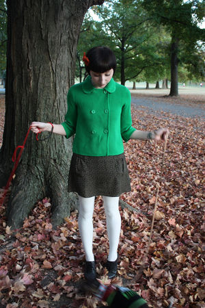 Gap jacket - Sophistix dress - Sock Dreams tights - delias shoes