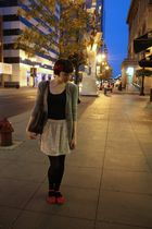 department store cardigan - Target top - Urban Outfitters skirt - Urban Outfitte