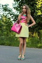 light yellow Mohito skirt