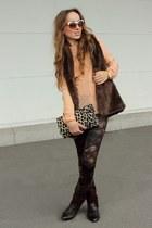 Cubus shirt - H&M bag