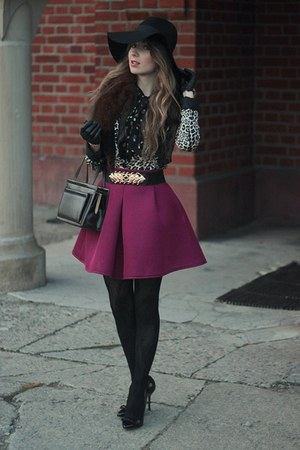 H&M hat - Zara jacket