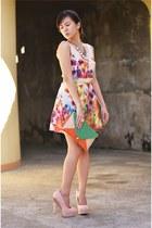 NIMA dress - Forever 21 heels