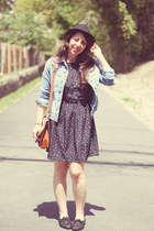 Three Ena dress - Paris Blues jacket