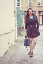 Bakers boots - Forever 21 bag - Urban Outfitters skirt