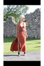 Blue-river-island-boots-burnt-orange-new-look-dress