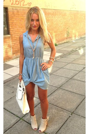 sky blue love jeans   Republic dress