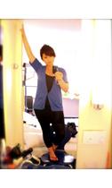 Gap sweater - American Apparel dress - Mossimo for Target pants - Gap shoes