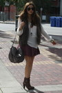 Dark-brown-zara-boots-light-brown-nine-westwest-bag