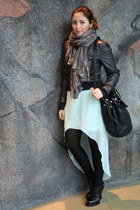 Alexander Wang boots - black UO jacket - black Alexander Wang bag