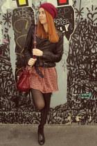 Maje jacket - Dahlia dress - Mulberry bag