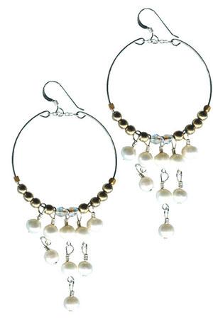 pearl hoop BelleStyle accessories