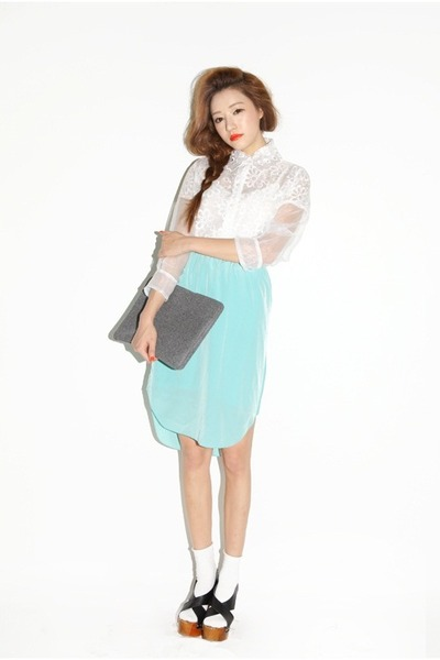 light blue skirts white tops quot light blue quot by parksora