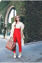 Style Nanda pants - Forever21 shirt - Style Nanda cardigan