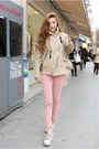 Light-pink-pants-eggshell-jacket