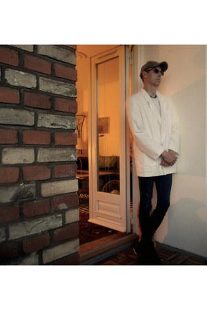 kappa shirt - lewis jeans - harvest hat - citystyle jacket