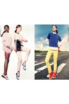 pink Dianne Von Furstenburg cardigan - Marc Jacobs loafers