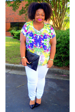 Forever21 shoes - Old Navy jeans - H&M accessories