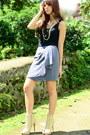 Black-forever-21-heather-gray-forever-21-skirt-beige-forever-21-forever-21