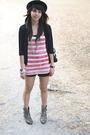 Black-zara-pink-op-top-black-randomly-found-in-hong-kong-cardigan-black-za