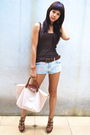 Brown-topshop-topshop-shorts-beige-longchamp-brown-michael-antonio