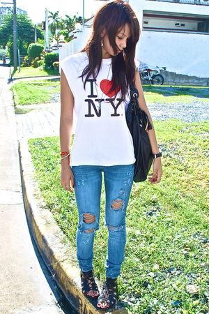 white i -heart- ny Randomly bought in New York top